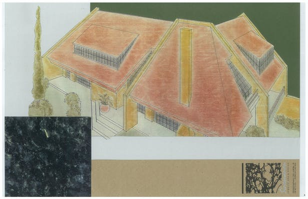 Residence   Exterior Hand-Sketch