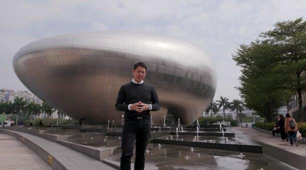 Pomeroy visits Shenzhen's Tech Hub