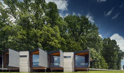Fallingwater Institute gains 4 spartan yet beautiful dwellings by Bohlin Cywinski Jackson