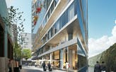 WAA begin construction on the Van der Valk Hotel in Amsterdam's Zuidas District