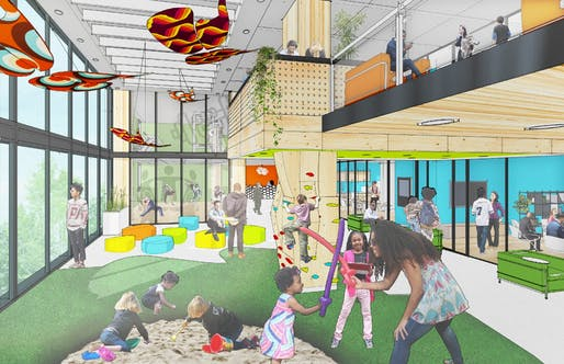 DJDS's Center of Equity in Atlanta. Image courtesy of Designing Justice + Designing Spaces.