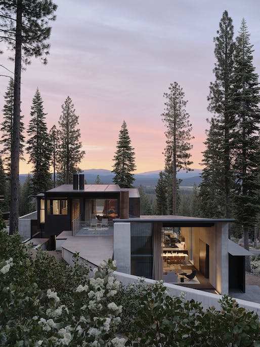 "<a href=""https://archinect.com/faulknerarchitects/project/lookout-house"">Lookout House</a> in Truckee, CA by <a href=""https://archinect.com/faulknerarchitects"">Faulkner Architects</a>; Photo: Joe Fletcher"