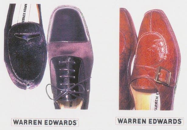 Style Sheet / Photo Shoot for Warren Edwards