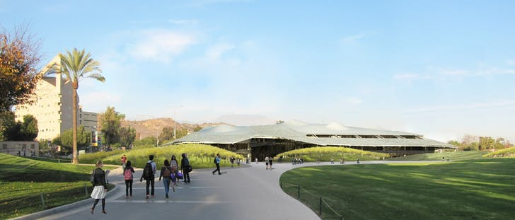 Administration Replacement Building, Cal Poly University, Pomona, CA. Rendering: CO Architects.