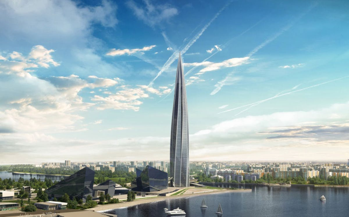 Europe S New Tallest Building The Lakhta Center By Rmjm