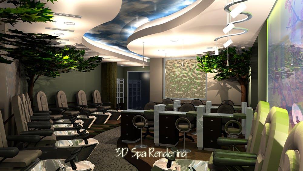Nail Garden Spa   Ryans Virtual Design, Inc.   Archinect