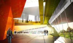 Cultural Center in Verdun by Saucier + Perrotte, Architectes