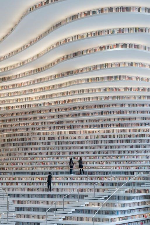 Tianjin Binhai Public Library by MVRDV. Photo: Ossip van Duivenbode.
