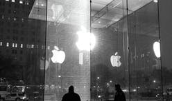 $450K panel of glass at Apple's iconic 5th Avenue 'Cube' store shattered by snowblower