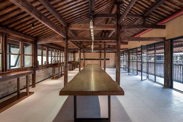 Coutyard Multifunction Space, photo: Wang Ning