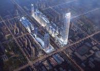 Aedas designs 450-metre skyscraper to reflect the philosophy of heaven-man