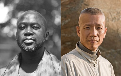 Sir David Adjaye OBE (Image © Chris Schwagga) and Cao Guo Giang (Lin Yi via/Cai Studio). Courtesy of The Noguchi Museum
