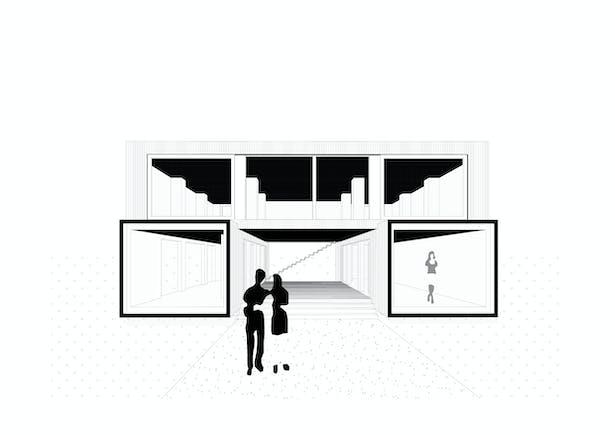 Model Ark-shelter