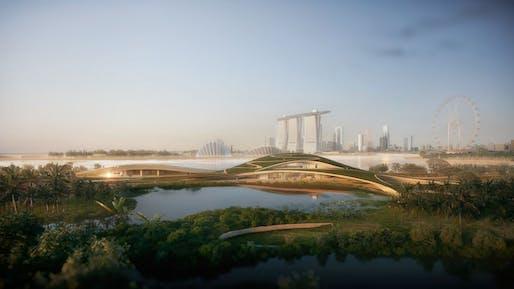 Image: Kengo Kuma & Associates and K2LD Architects