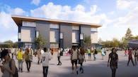 Mountain View High School: Auxiliary Gymnasium