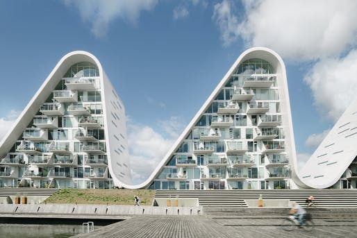 The Wave by Henning Larsen. Photo: Jacob Due.