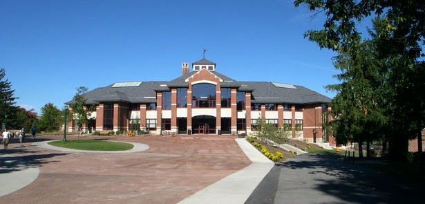 St. Lawrence University - Student Center (Image: MCF Architects)