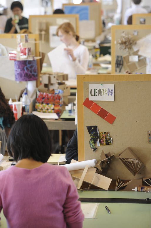 Personal relationships and mutual intellectual stimulation are at the core of studio culture and architectural education. How do students (and their teachers) perform once these elements are suddenly taken away? Find our readers' responses below. Photo: Tulane School of Architecture, Wikimedia...