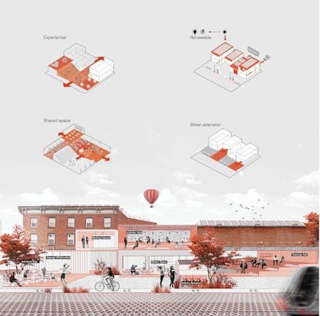Post Retail Apocalypse. Work by Einat Lubliner, Sushmita Shekar, Hatem Alkhathlan, Chris Zheng