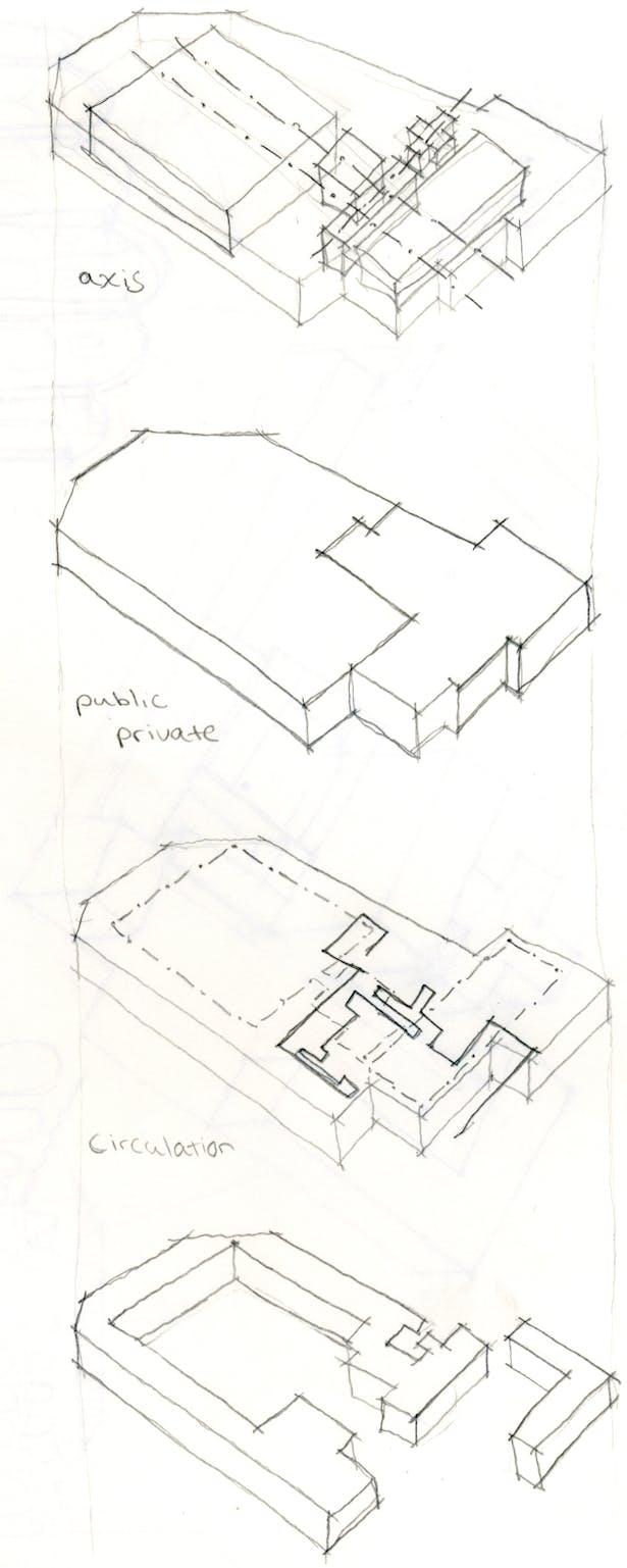 diagrams of Certosa in Galuzzo, Italy