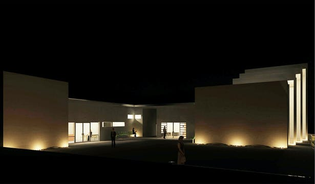 Revit Rendering - Night
