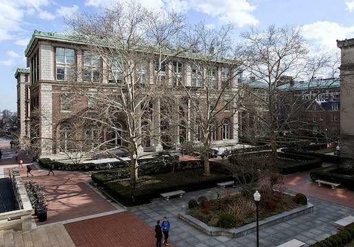 Avery Hall, Columbia University Graduate School of Architecture, Planning, and Preservation. Photo: GSAPPstudent/Wikimedia Commons