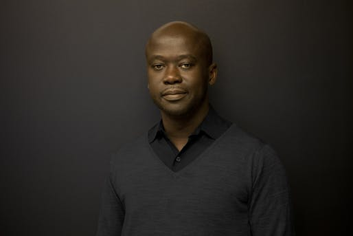 Sir David Adjaye will receive the 2018 International Humanities Medal from Washington University in St. Louis. (Photo courtesy of Adjaye Associates)