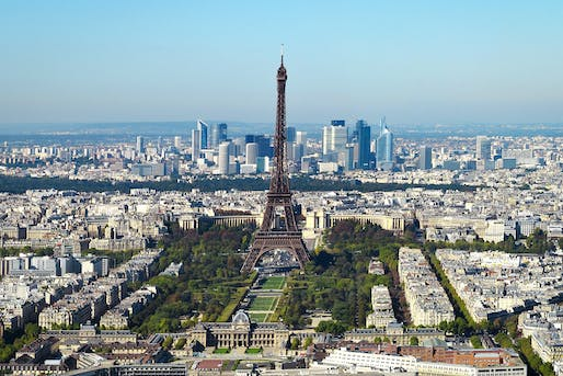 Paris has done a much better job than California in terms of building affordable housing in recent years. Image courtesy of Wikimedia user Taxiarchos228.