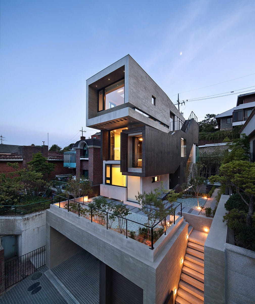 H-House by Sae Min Oh / bang by min emerging design group | News ...