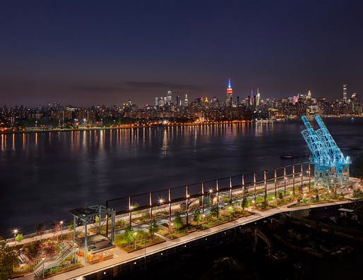 ​Award of Merit: Domino Park Brooklyn, NY. Photo: Daniel Levin.