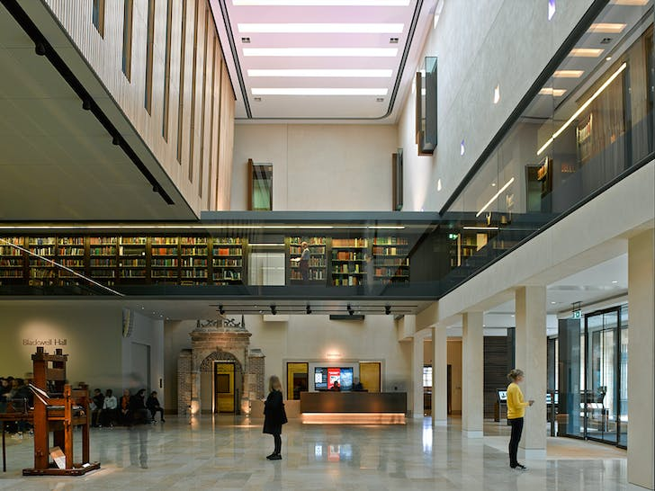 Weston Library by Wilkinson Eyre. Photo: James Brittain