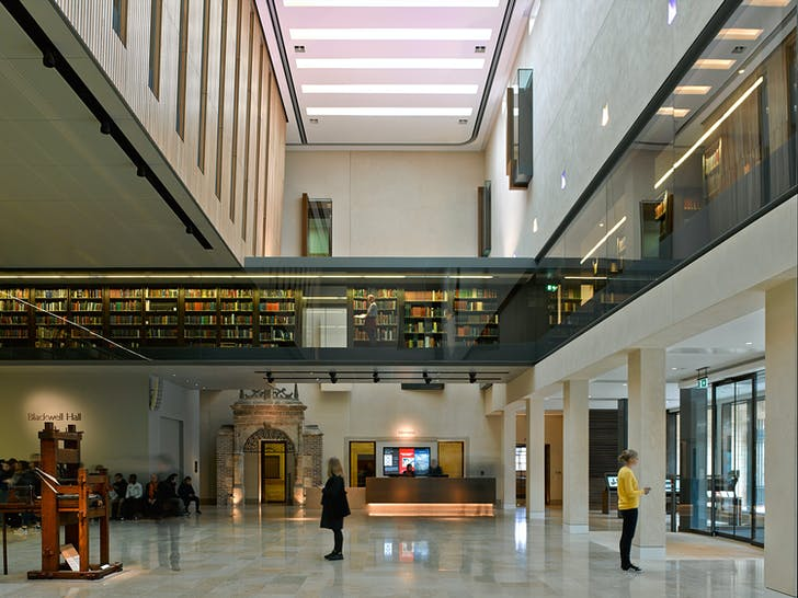 Weston Library by Wilkinson Eyre. Photo: James Brittain