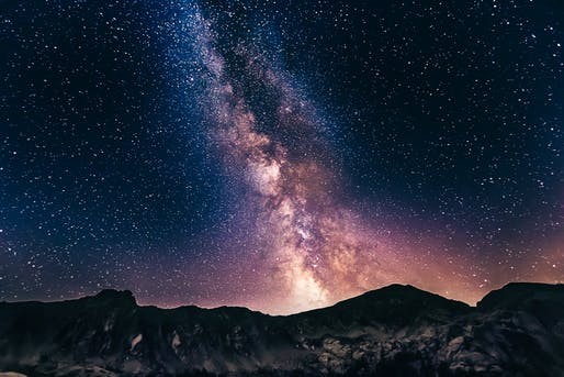 View of the Milky Way, Photo by Unsplash user Denis Degioanni