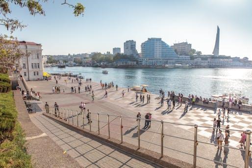 View of Sevastopol, Ukraine before the Russian annexation in February 2014. Image via Wikipedia.