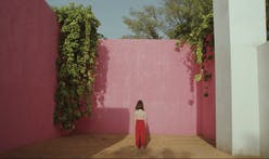 Luis Barragan's Casa Gilardi hosts a body-bending dance troupe