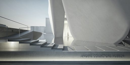 Courtesy of Steven Holl Architects, Compagnie de Phalsbourg and XO3D.