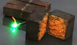 New research shows potential in storing energy in red bricks