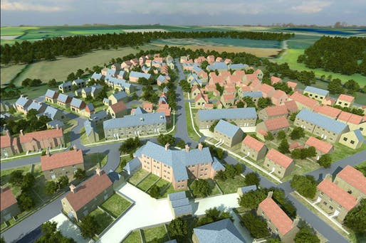 "Cited as a good example of a ""successful newly developed town"" in the UK: Wixams in Bedfordshire (Image via vice.com)"