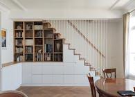 Duplex appartmen renovation in Paris XV