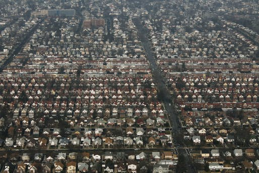Aerial view of the Laurelton neighborhood in Queens. Image courtesy of Flickr user formulanone.