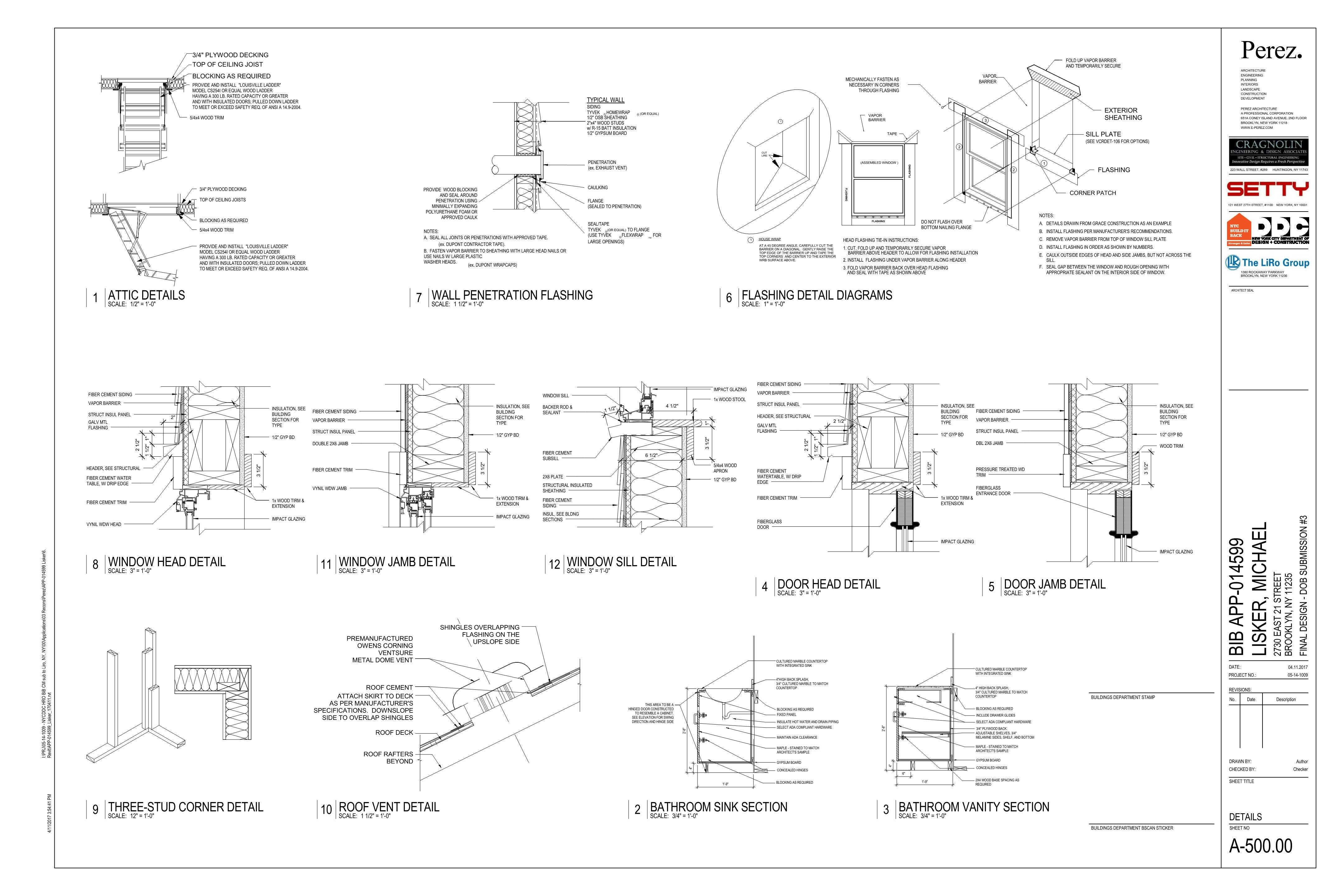 selected construction document sheets  revit