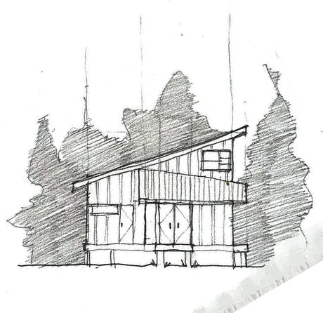 currently working on a small design build project for a boathouse!