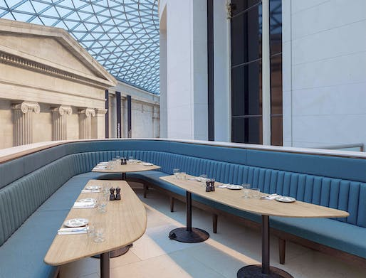 "<a href=""https://archinect.com/softroom/project/british-museum-great-court-restaurant"">British Museum - Great Court Restaurant</a> in London, UK by <a href=""https://archinect.com/softroom"">Softroom</a> (Softroom was also <a href=""https://archinect.com/features/article/150146057/studio-visits-softroom"">recently featured</a> in Archinect's popular <a..."
