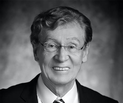 Richard Driehaus, 1942–2021. Image courtesy of The Richard H. Driehaus Foundation.