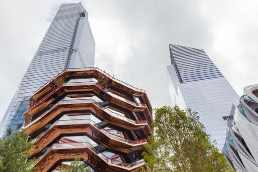 Thomas Heatherwick's Vessel in Hudson Yards.