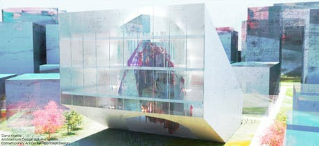 New Arch Design Post   Contemporary Art Center   Architecture Design Volume 4