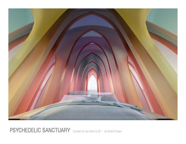 Psychedelic Sanctuary - Kimberly V.K.H. Nguyen