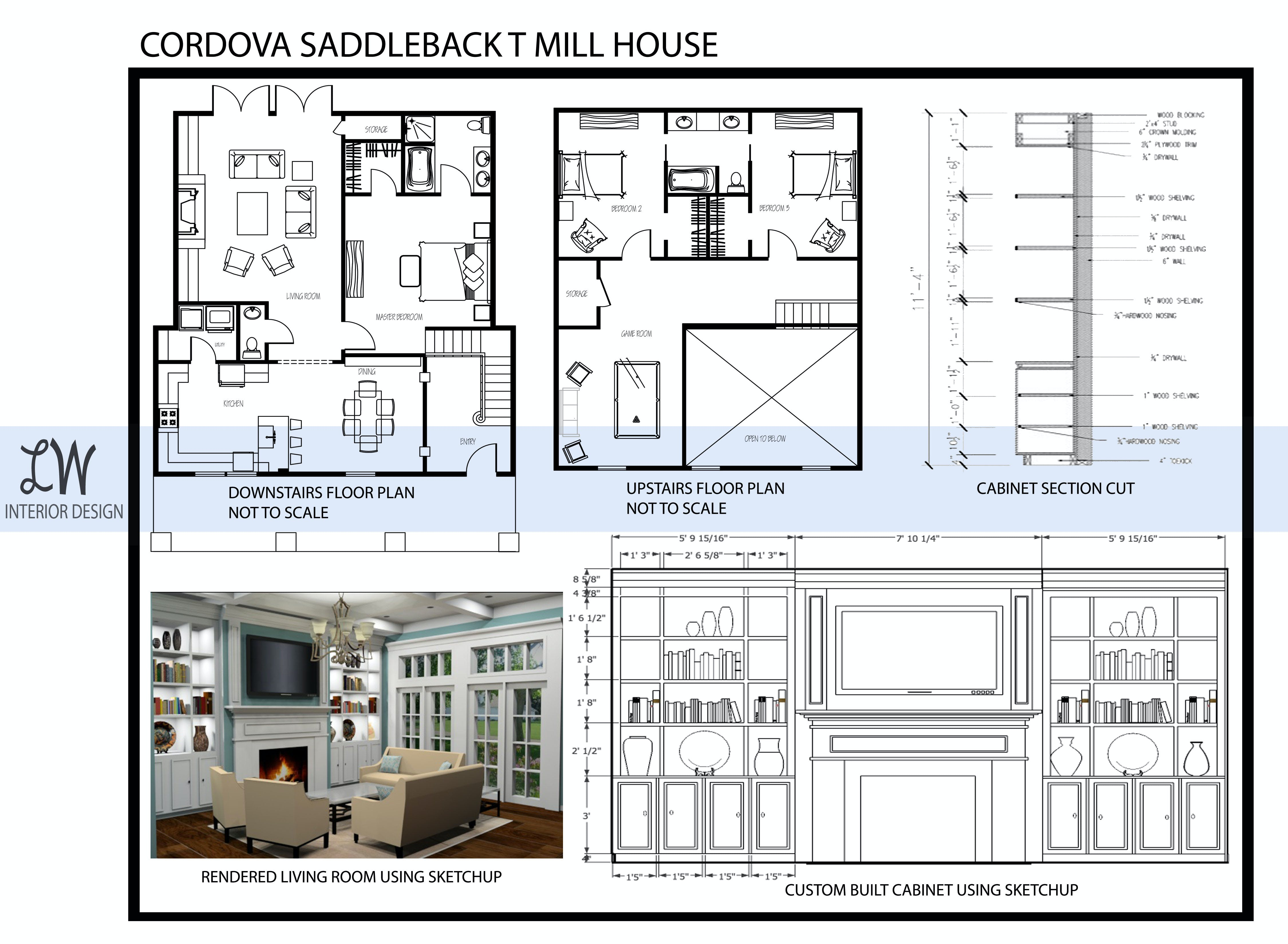 Interior design portfolio lauren williams archinect for Pixel people interior designer