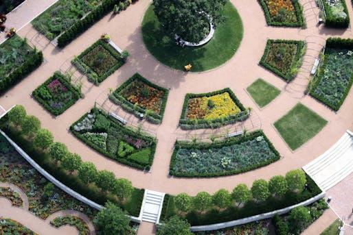Cantigny Park Garden and Landscape project. Image courtesy of Sasaki