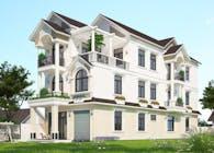 Mẫu biệt thự đẹp 3 tầng hiện đại xu hướng thiết kế mới nhất